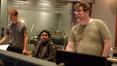 Orchestrator Kaz Boyle, composer A.R. Rahman and scoring mixer Alan Meyerson