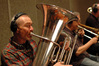 Doug Tornquist on Tuba, Bill Reichenbach on Bass Trombone