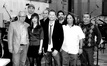 The music team: Brad Warnaar, Pakk Hui, Dana Niu, Joe Lisanti, Brian Tyler, Gary Krause, Robert Elhai and Bobbie Fernandez