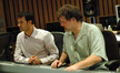 Composer Ramin Djawadi and scoring mixer Frank Wolf