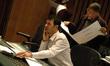 Composer Ramin Djawadi and music contractor Reggie Wilson
