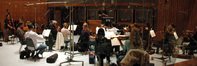 Stephen Coleman conducts the string ensemble