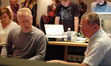 Composer John Debney talks with scoring mixer Shawn Murphy