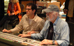 Composer Michael Giacchino and scoring mixer Dan Wallin