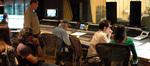 Director Brad Silberling, stage engineer Tom Steel, scoring mixer Dan Wallin, composer Michael Giacchino and score coordinator Andrea Datzman