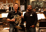 Brian Tyler and director F. Gary Gray with Brad Warnaar's French horn