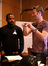 Director F. Gary Gray and composer Brian Tyler discus a cue