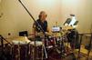Ray Brinker on drums