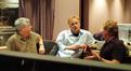 Orchestrator Dave Metzger, director Karey Kirkpatrick and composer Mark Mancina