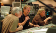 Orchestrator Dave Metzger, composer Mark Mancina and scoring mixer Steve Kempster