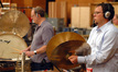 Percussionists Alan Estes and Chester Englander