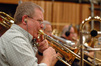 Trombonist Andy Malloy