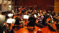 Masamichi Amano conducts the Angel City Orchestra at Warner Bros.