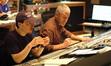 Composer Steve Jablonsky and scoring mixer Jeff Biggers