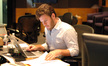 Scoring assistant Pieter Schlosser