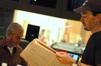 Scoring mixer Jeff Biggers and composer Steve Jablonsky