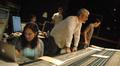 Orchestrator Penka Kouneva, ProTools recordist Larry Mah, orchestrator Philip Klein, scoring mixer Jeff Biggers and composer Steve Jablonsky