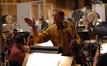 Concertmaster Clayton Haslop