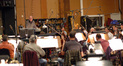 Joel McNeely conducts on <i>Tinker Bell and the Lost Treasure</i>