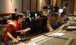 Orchestrator Sean McMahon and scoring mixer Bobby Fernandez