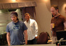 Director Jason Reitman, orchestral contractor Dan Savant and composer Rolfe Kent