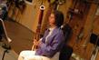 ______ plays bassoon