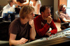 Composer Tyler Bates and scoring mixer Gustavo Borner