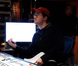 Composer Austin Wintory offering feedback to the musicians