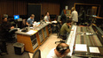 The booth at Capital during the scoring session