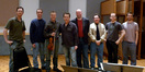 Orchestral engineer Dan Blessinger, orchestrator Andrew Kinney, violin soloist Martin Chalifour, composer Garry Schyman,  audio director Michael Kamper, contractor/copyist  Ross DeRoche, orchestrator Peter Bateman and orchestral preparer Nathan Whitehead