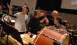 Percussionists MB Gordy, Mike Englander,Dan Greco, Brian Kilgore