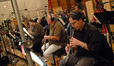 Chris Bleth and the woodwinds perform on <i>Despicable Me</i>
