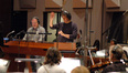 Composer Marc Shaiman and conductor Jeff Atmajian