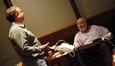 Composer Marc Shaiman talks with director Rob Reiner