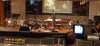 Bear McCreary conducts the strings for Human Target
