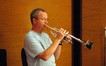 Jon Lewis on trumpet