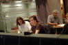 Paul Linford, Trevor Rabin and orchestrator Tom Calderaro