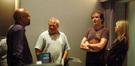 Music librarian Booker White, conductor Don Harper, composer Trevor Rabin, and music executive Monica Zierhut