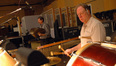 Greg Goodall on piatti; Alan Estes on bass drum