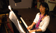 Gloria Cheng on piano