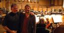 Director Jonathan Liebesman and his father