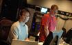 ProTools recordists Larry Mah and Kevin Globerman