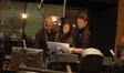 Music editor Joe Lisanti, orchestrator Dana Niu and composer Brian Tyler
