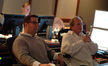 Composer Christopher Lennertz and scoring mixer Jeff Vaughn