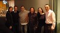 Agent Laura Engel, music executive Mike Knobloch, composer Christopher Lennertz, director Tim Hill, and BMI's Lisa Feldman and Ray Yee.