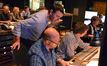 Ccomposer John Paesano, orchestrator Randy Kerber, composer assistant Braden Kimball,, scoring mixer Alan Meyerson and stage recordist Tim Lauber