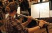 A flute performing Fil Eisler's score to <i>Revenge</i>