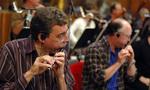 Steve Kujala and Dick Mitchell on flutes
