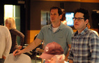 Composer Michael Giacchino and director J.J. Abrams