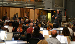 Tim Simonec conducts the Hollywood Studio Symphony in <i>Super 8</i>